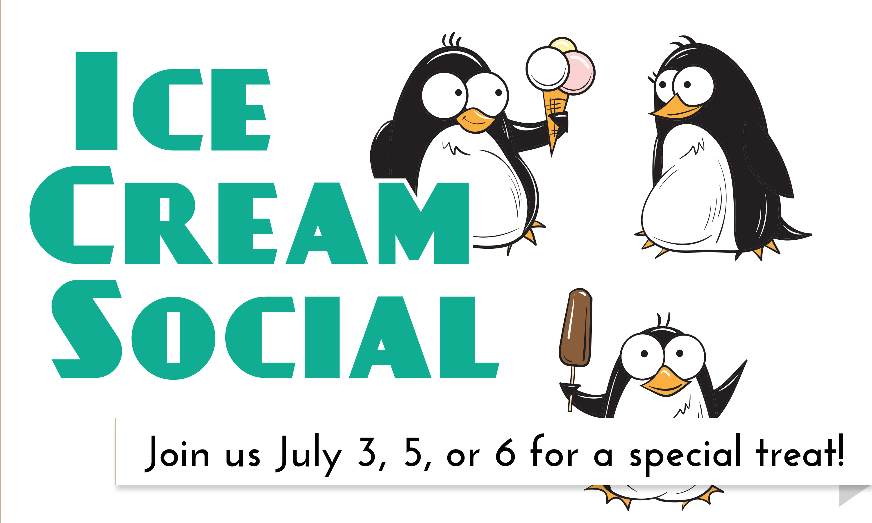 Beat the heat with a delicious summer treat at the Garfield County Libraries' Ice Cream socials!