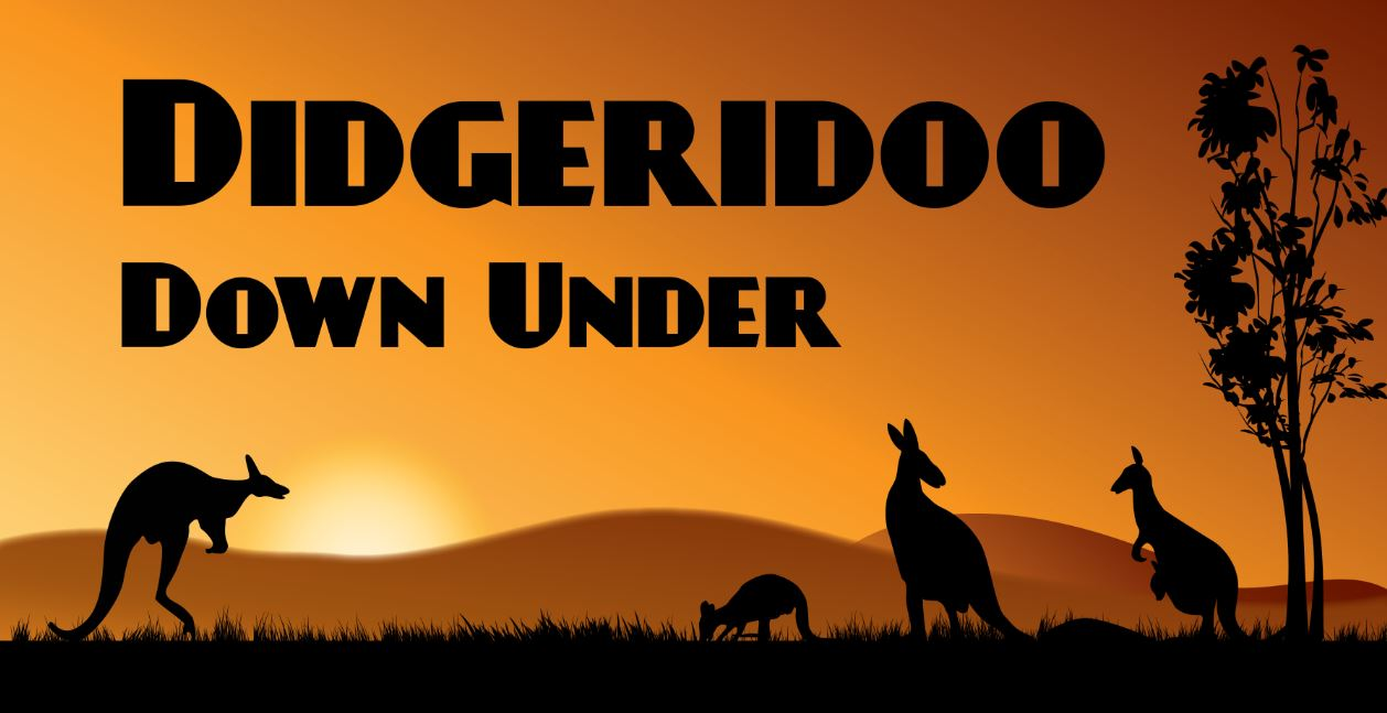 Didgeridoo Down Under program for kids