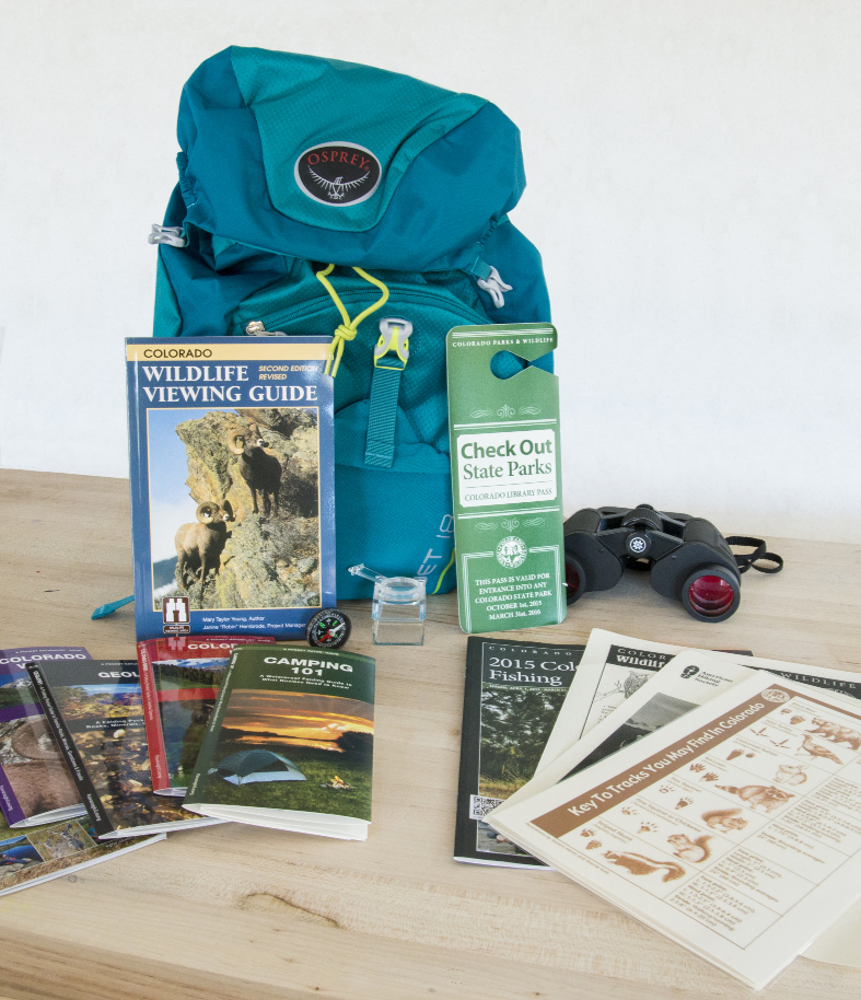 Check Out a Colorado State Parks Pass and Backpack at the Rifle Branch Library