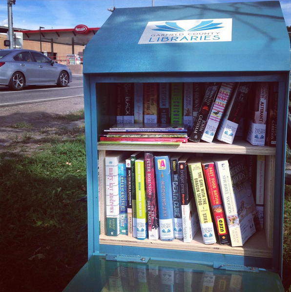 Book Stop at the Rifle Park & Ride