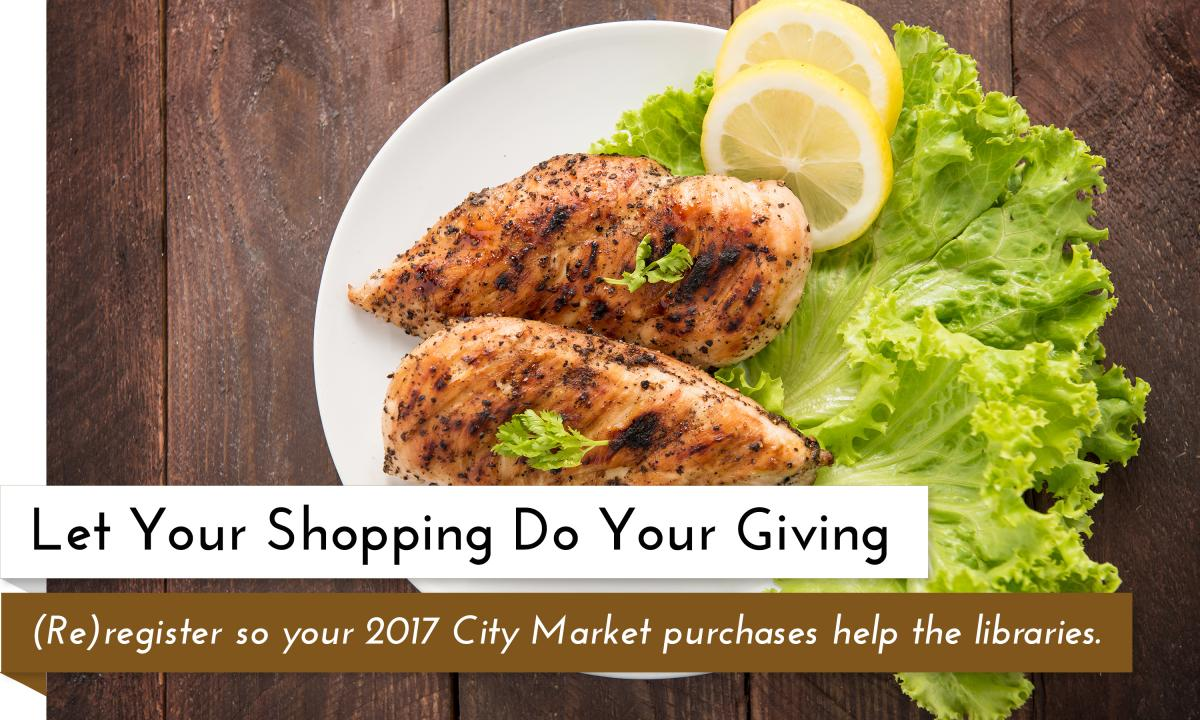 City Market Community Rewards - Give Back to the Garfield County Libraries