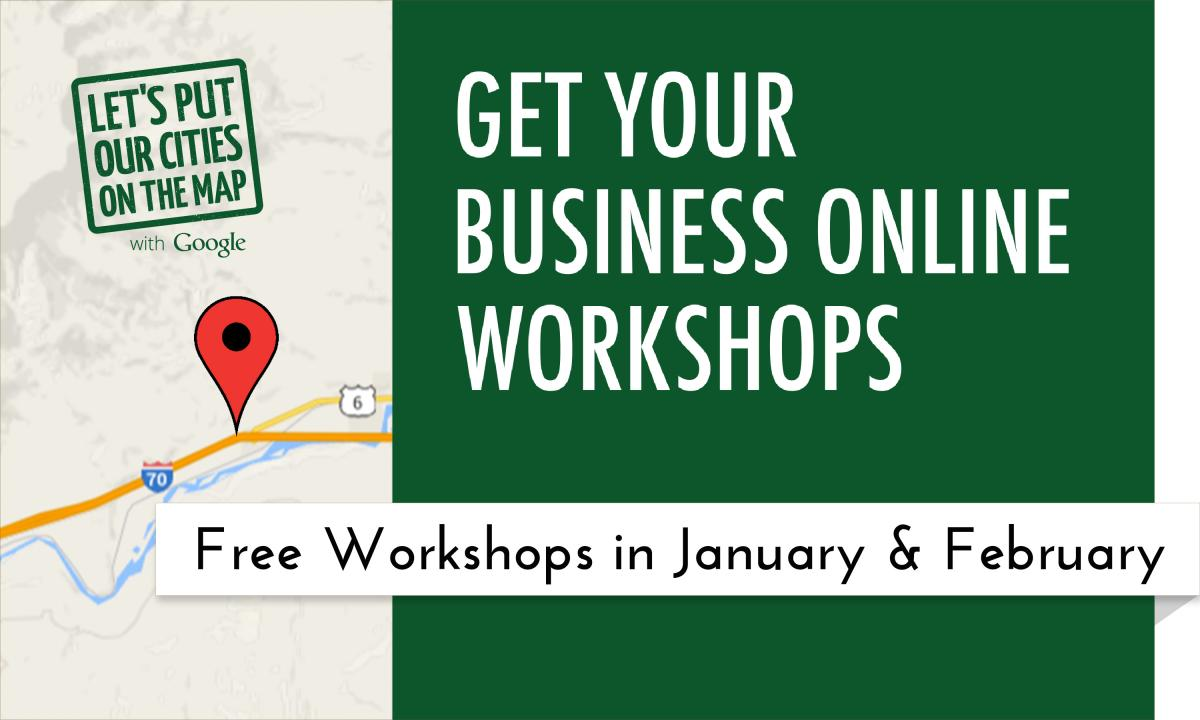 Sign up to attend one of these free workshops!