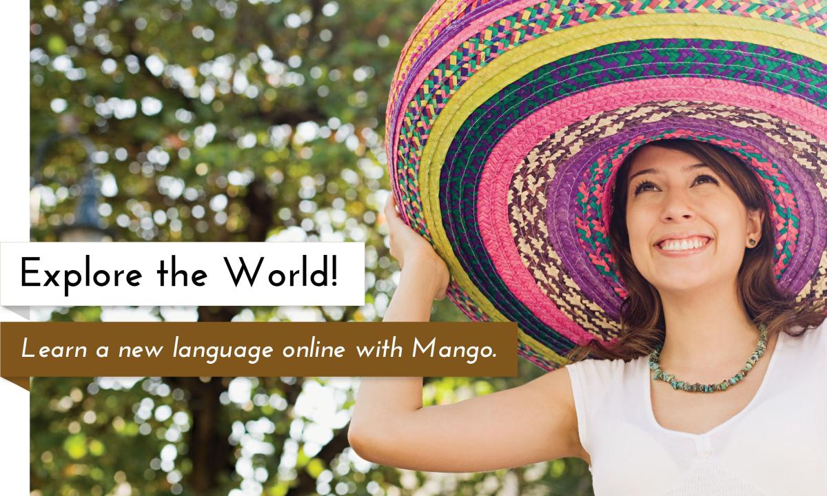 Learn a new language online with Mango and your Garfield County Libraries card