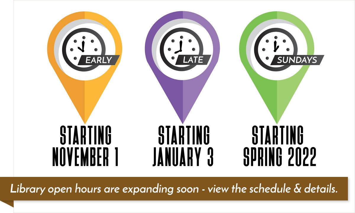 Expanding Library Hours