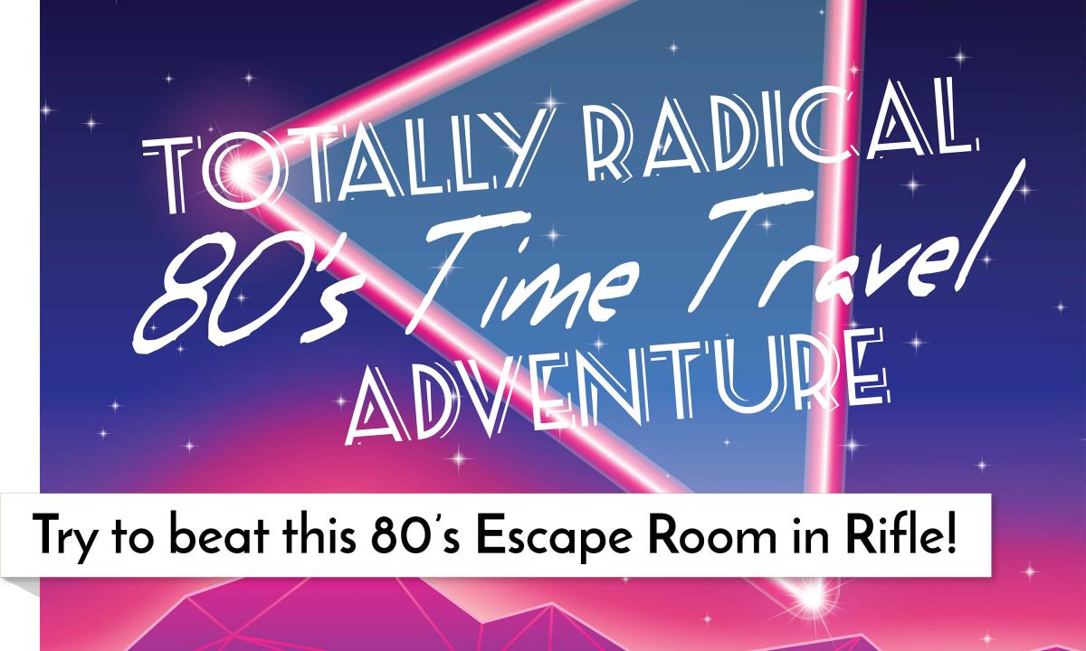 Totally Radical 80s Time Travel Adventure Escape Room