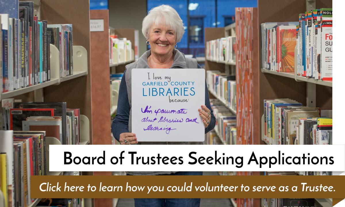 Board of Trustees Seeking Applications
