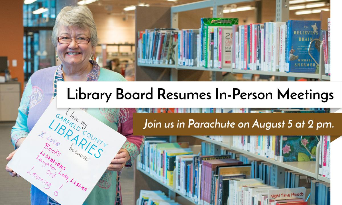 Library Board resumes in-person meetings