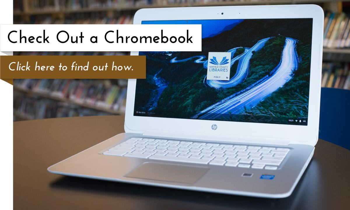 Chromebooks now available at the libraries