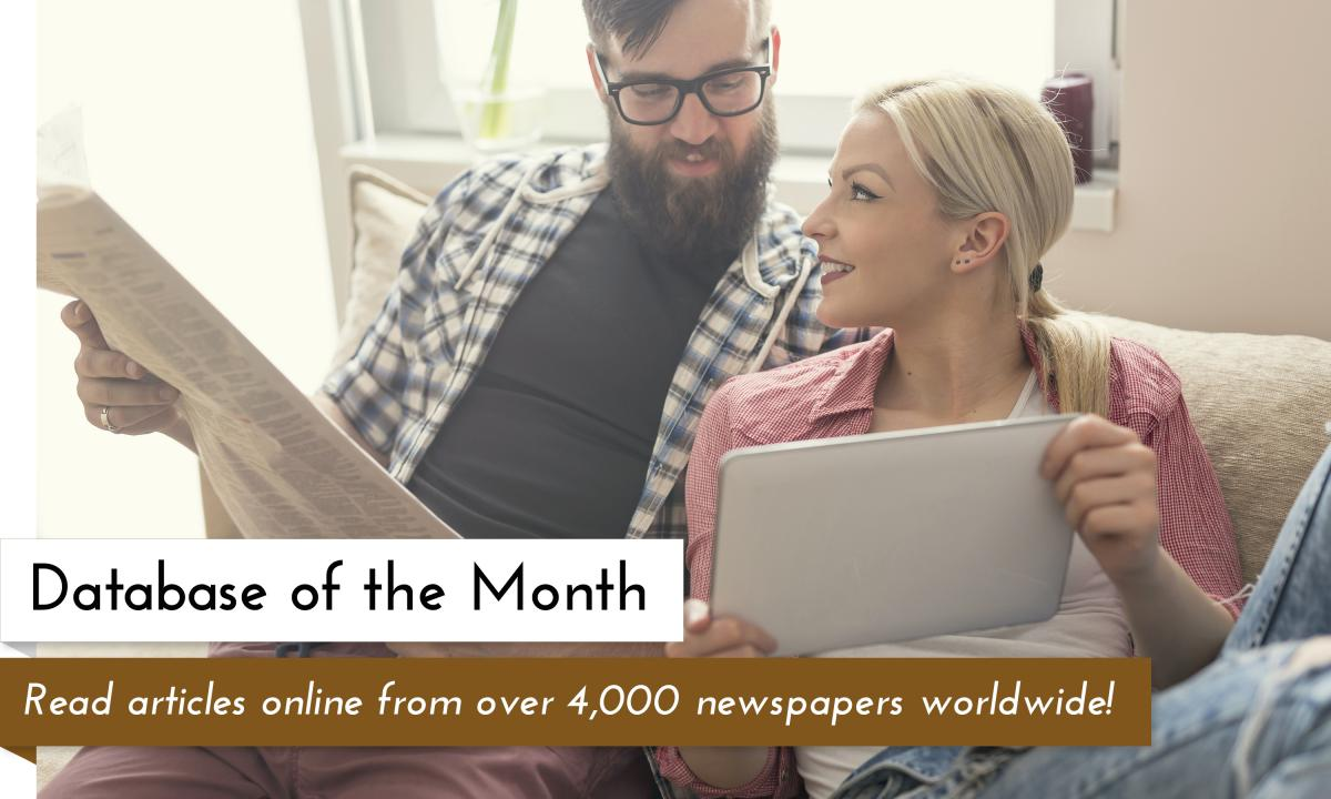 Database of the Month Newsbank