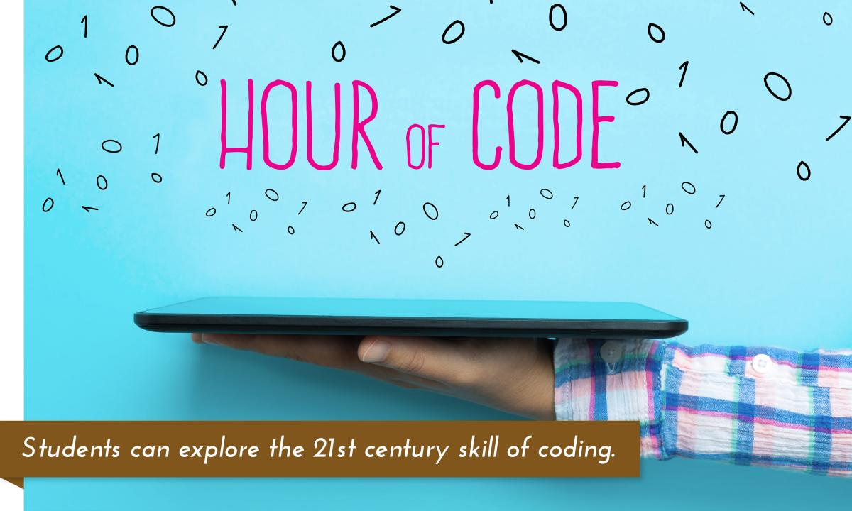 Hour of Code 2016: come to the libraries to try your hand at coding!