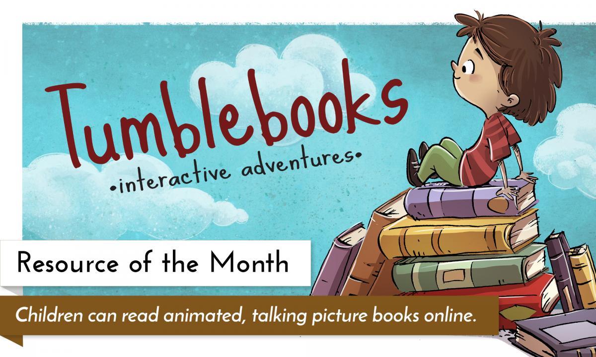 Tumblebooks: e-books for e-kids!