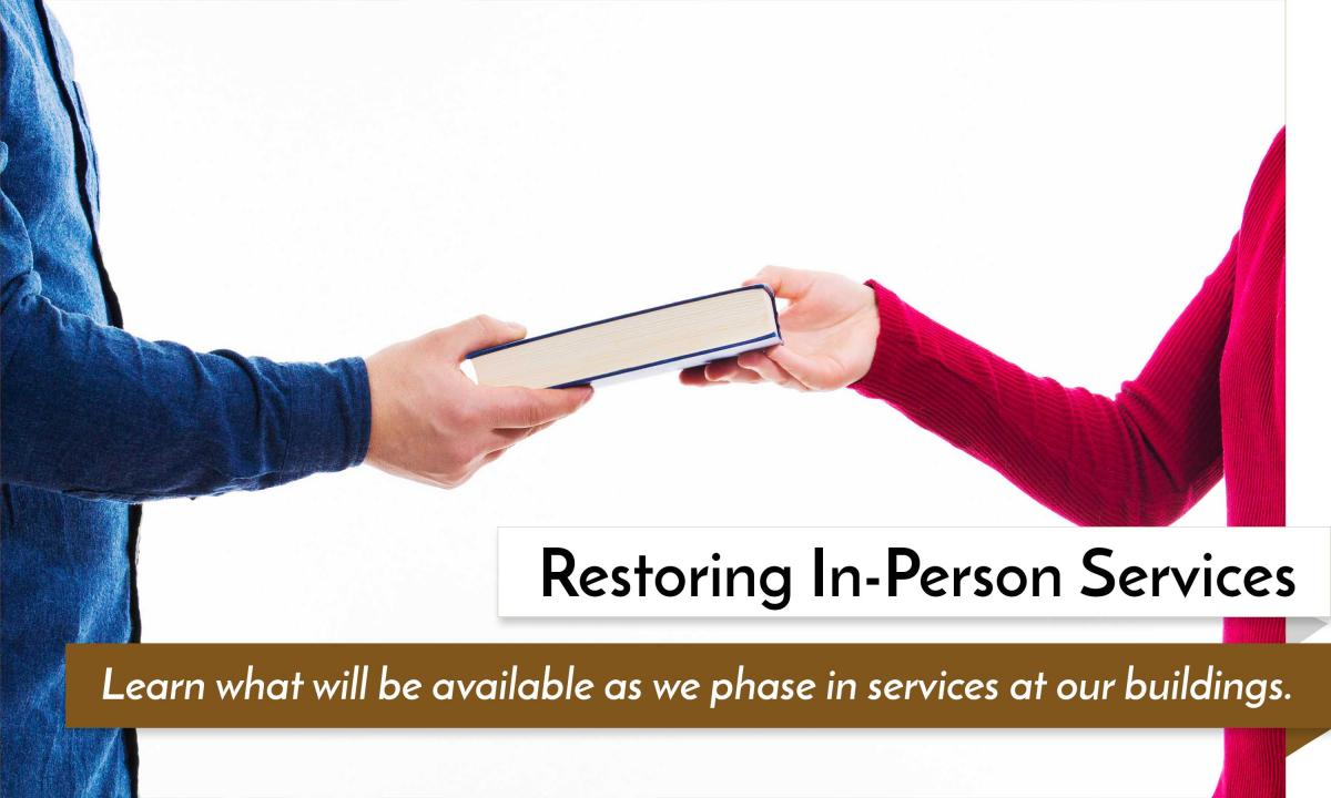 Restoring In Person Services