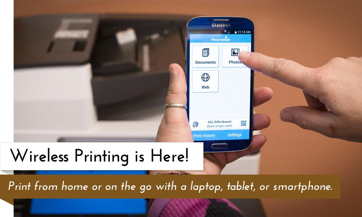 Wireless Printing is Here