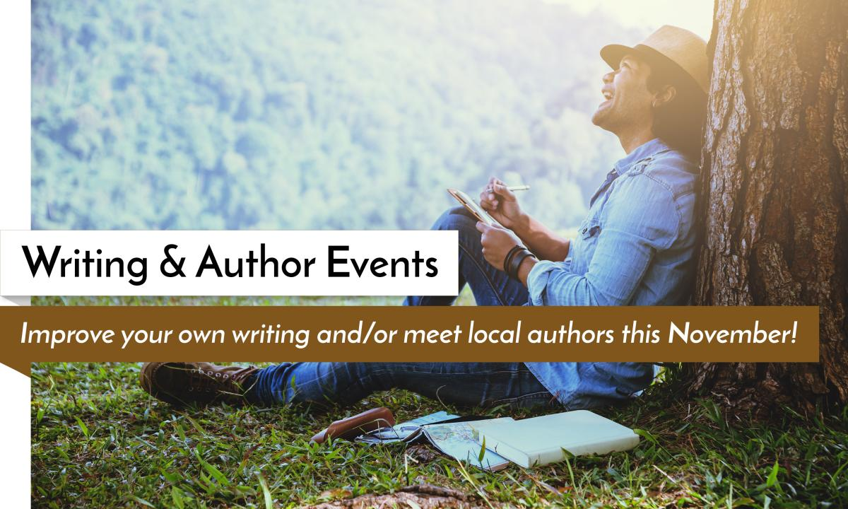 November Writing and Author Events