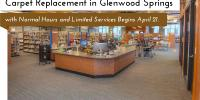 Carpet Replacement at the Glenwood Springs Branch Library