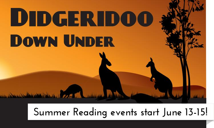 Summer Reading events start at the Garfield County Libraries the week of June 13-15!