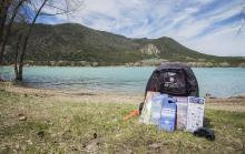 Check out state parks with library backpacks