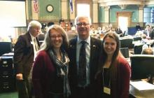 Librarians Fields and Shipley and Representative Rankin