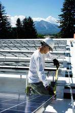 Carbondale Library (Colorado) solar project