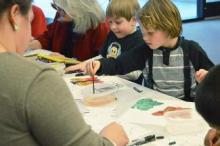 Painting Pages event for kids debuts at Glenwood Library